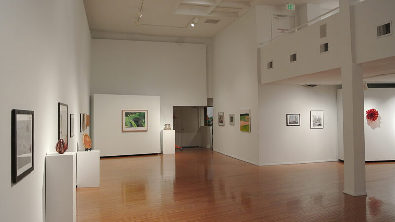 The Prichard Art Gallery at the University of Idaho